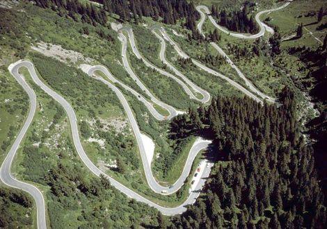 Silvretta Hochalpenstrasse - the classic tour - Alpen Hotel Post