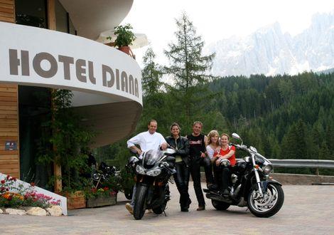 Penser pass - Jaufen pass - Bike & Ski Hotel Diana Karersee