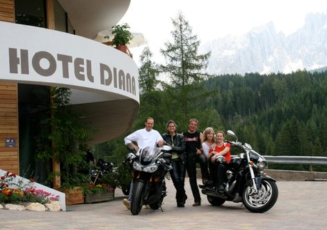 Penserjoch - Jaufenpass - Bike & Ski Hotel Diana Karersee