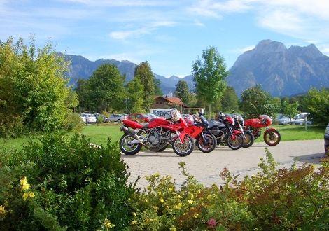 Füssen - Kniepaß - Namlos - Hahntennjoch - Gaichtpaß - Eisenberg - Füssen - Wellnesshotel Sommer