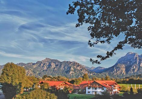 Füssen - Lechtal - Arlberg - Hahntennjoch - Pfronten - Füssen - Wellnesshotel Sommer