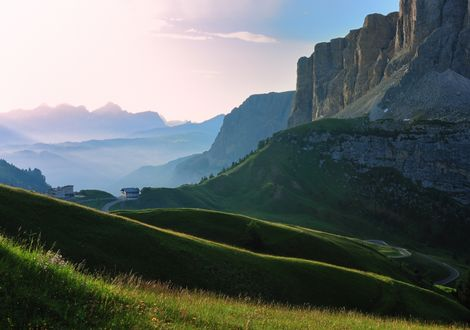 The curvy heart of the Dolomites - Hotel Teutschhaus