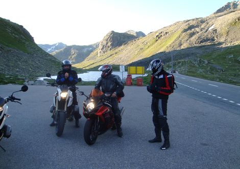 Engadin Tour - Motorrad und Wellnesshotel Traube Post