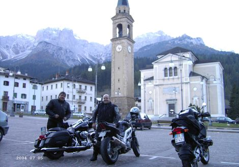 Mammoth tour for conditional rich and very good bikers - Motorrad- & Spa Hotel Traube Post am Reschensee