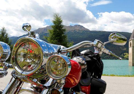 Martelltal - Motorrad- & Spa Hotel Traube Post am Reschensee