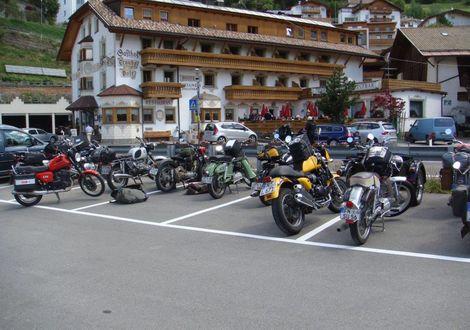 Schnalstal - Motorrad- & Spa Hotel Traube Post am Reschensee