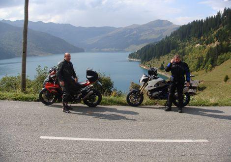 Spullersee (Vorarlberg) - Motorrad- & Spa Hotel Traube Post am Reschensee