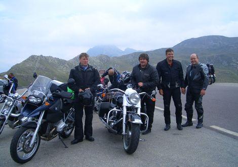 Timmelsjoch Tour - Motorrad- & Spa Hotel Traube Post am Reschensee