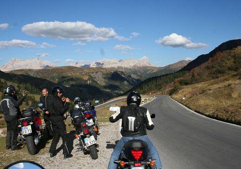 Jaufenpass und Penserjoch - Motorrad-Hotel-Südtirol Ludwigshof