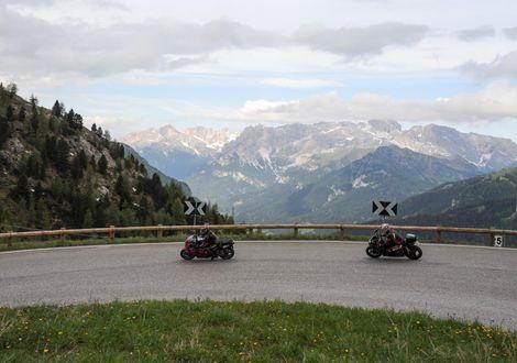 Unsere Pässetour - Motorrad-Hotel-Südtirol Ludwigshof