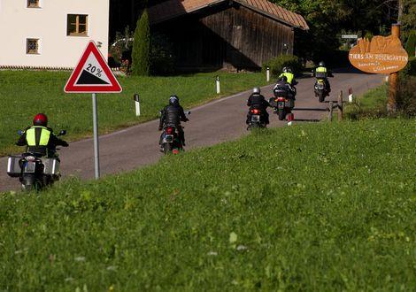 Tour zum Manghenpass - Motorrad-Hotel-Südtirol Ludwigshof