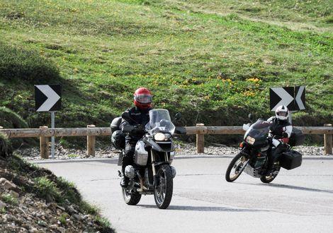 Die Tour der Dolomitenpässe - Gröden - Reggelberg - Motorrad-Hotel-Südtirol Ludwigshof
