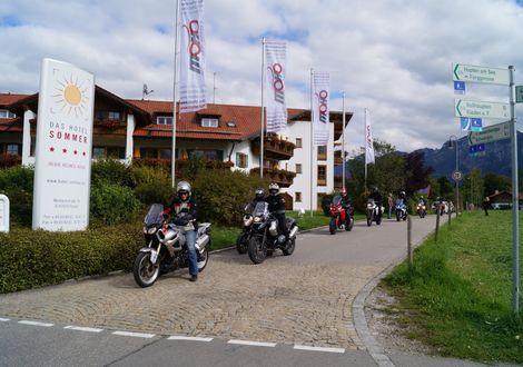 Füssen - Riedbergpaß - Oberallgäu - Füssen - Wellnesshotel Sommer