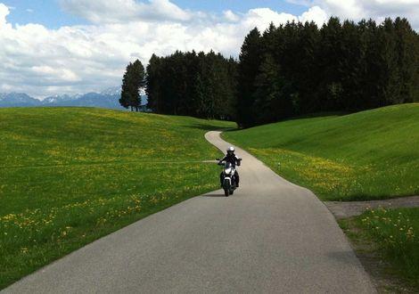 Füssen - Timmelsjoch - Jaufenpass - Gap - Linderhof - Füssen - Hotel Sommer