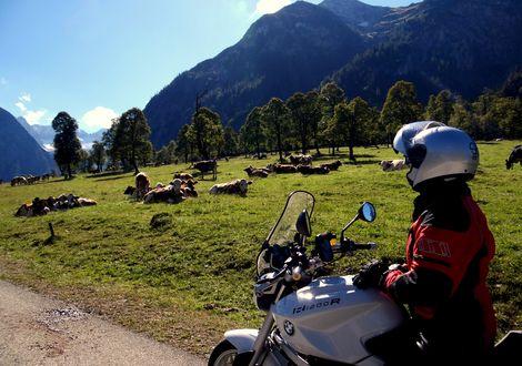Auf der Grenze zwischen Tirol und Bayern zum Großen Ahornboden - Hotel Sonnleiten
