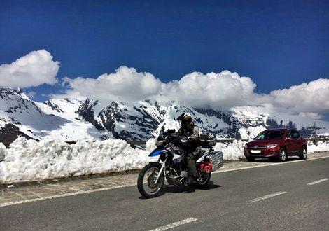 """Classic Grossglockner tour - Gasthof Lederer """"Bike & Snow"""""""