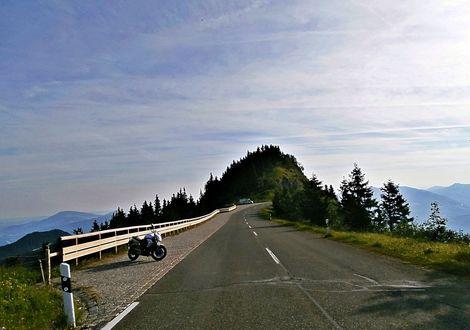 """Rossfeld Panorama Tour - Gasthof Lederer """"Bike & Snow"""""""