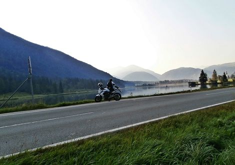 "Lake Pillersee tour - Hotel ""Bike & Snow"" Lederer"