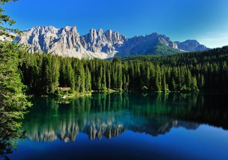 Dolomites – the southern part - Hotel Teutschhaus