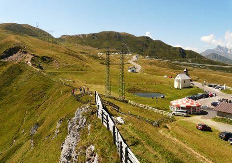 Dorf Tirol – Jaufen Pass – Penser Joch tour - Hotel Appartement Haus Gitschberg