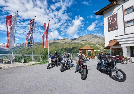 Hahntennjoch tour - Alpenhotel Laurin