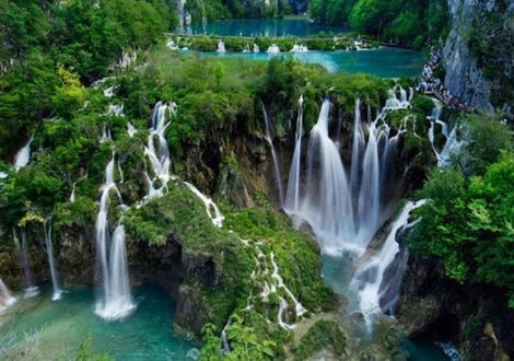 The most beautiful waterfalls of southeast Europe - Plitvice Lakes - Hotel Valamar Diamant