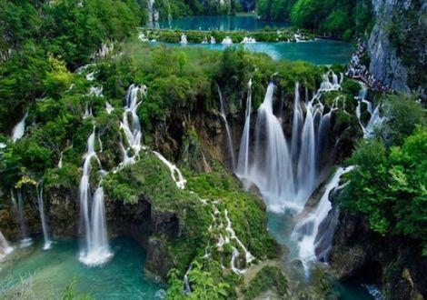 Die schönsten Wasserfälle Südosteuropas – Plitvicer Seen  - Hotel Valamar Diamant