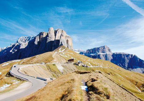 Die große Dolomitenroute 255 km - Hotel Florian