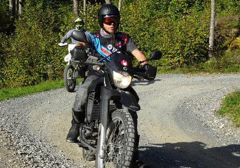 The Sideways gravel tour to Diex - Das Kärntner Motorradhotel Berghof Brunner